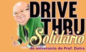 Aniversário solidário: Professor Raimundo Dutra, celebra aniversário ajudando ao próximo